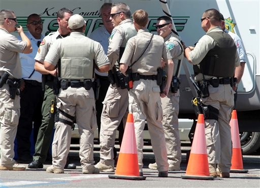 Police Search Rugged California Area for Gunman