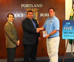 Portland Police Bureau Receives Safety Equipment Grant From The Spirit of Blue Foundation