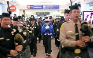 Public Memorial Service for Slain TSA Agent