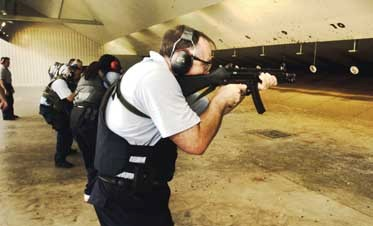 In-Service Firearms Training