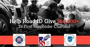 Road ID to Donate Up to $50,000 to First Responder Charities
