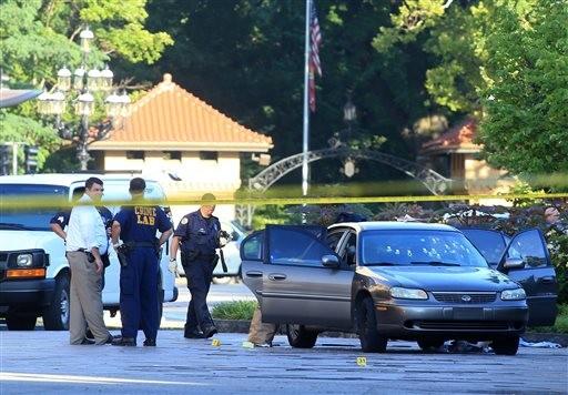 Suspect in St. Louis Ambush in Custody