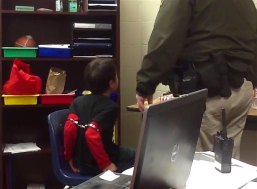 Video: Handcuffed Child Ignites School Discipline Debate