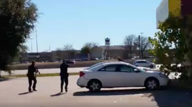 Robbery Suspect Takes Hostage as Shield, Deadly Shot Ends It