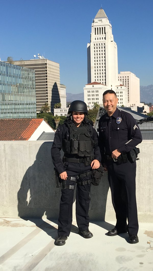LAPD Officer To Run Marathon In Full Tactical Gear