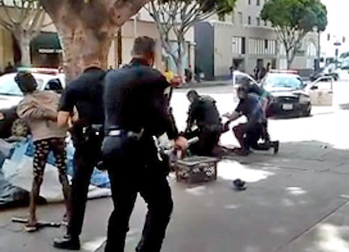 L.A. Police Commission clears officers in skid row shooting