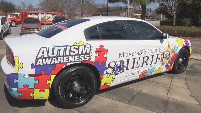 Patrol Car Raises Awareness for Autism