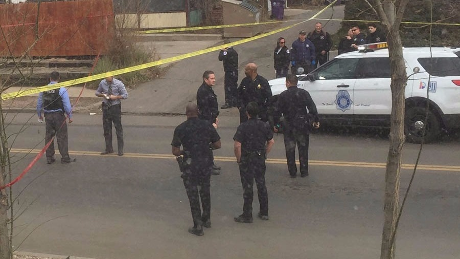 Denver Officer Shot