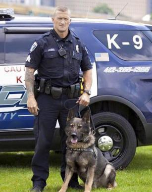 Police K9 and Suspect Killed
