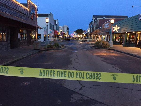 Oregon Officer Killed Attempting Arrest