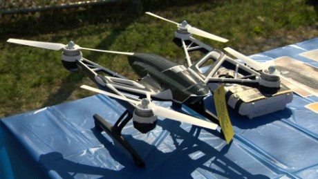 Drone Carrying Cell Phones Discovered at Prison