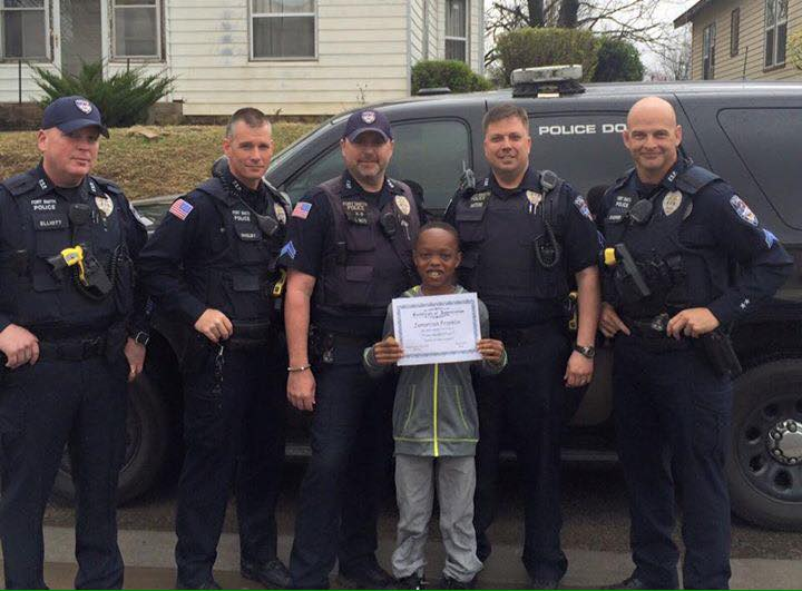 "Officer Makes Student ""Honorary K-9 Officer"""