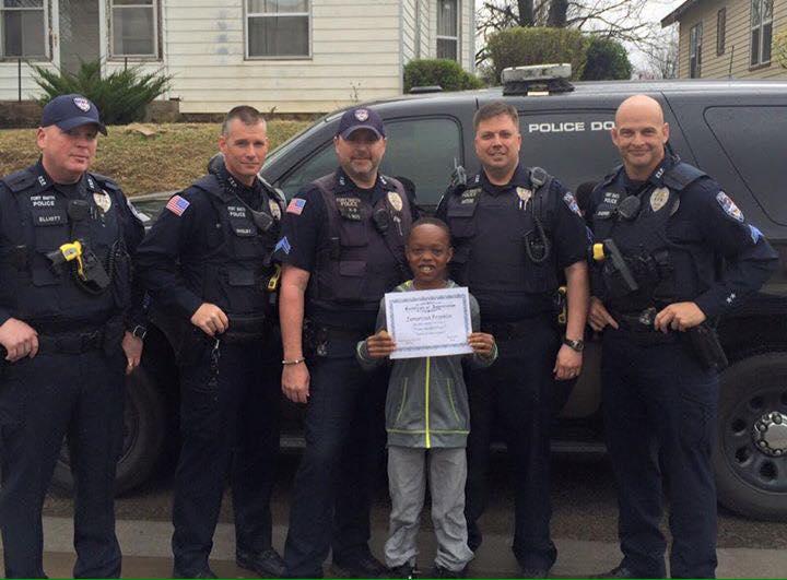 """Officer Makes Student """"Honorary K-9 Officer"""""""