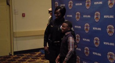 Once Homeless Single Mother Sworn in as Police Officer