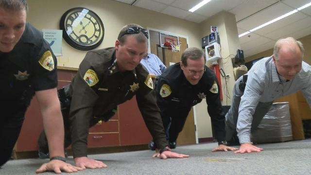 22 Push-up Challenge Brings Awareness To Suicide - Law Officer