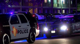 Texas Officer Shot Arresting Murder Suspect