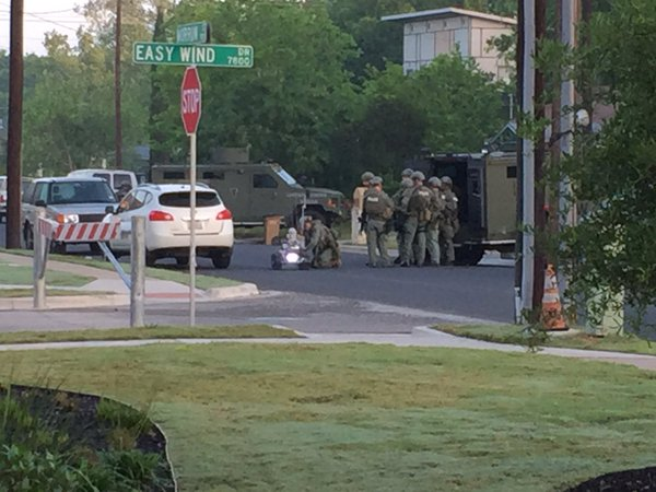 Austin Officer Shot; Suspect In Custody