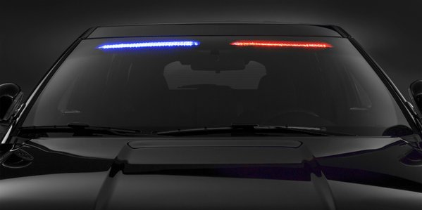 New Ford Lightbar Is Concealed