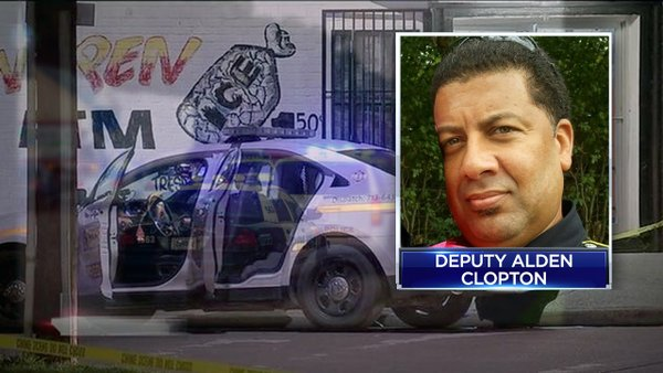 Houston Deputy Shot In Ambush Attack