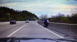 Video:  NJ Cop Saves Man Jumping From Bridge