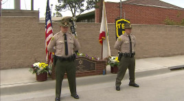 24 Hour Vigil Held For Slain Deputy Murdered In 2002