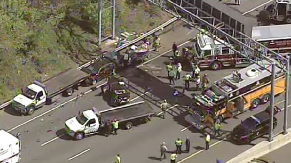 Maryland Trooper Seriously Injured After Multi-Vehicle Crash
