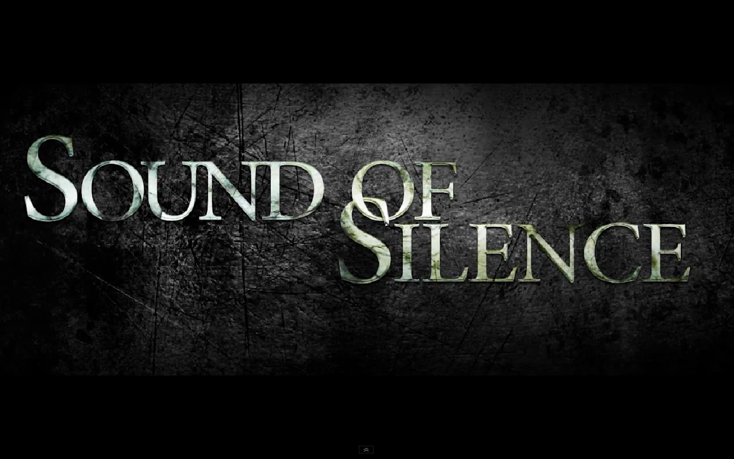 sound of silence We use cookies to personalise content and ads, to provide social media features and to analyse our traffic we also share information about your use of our site with our social media, advertising and analytics partners.