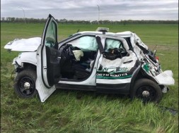 UND squad car crash
