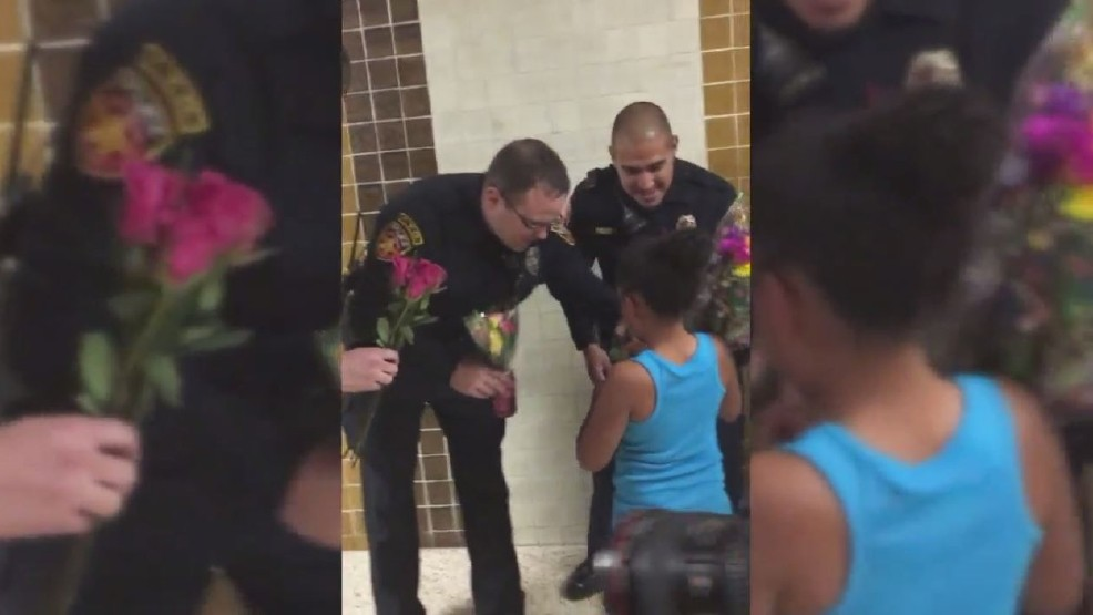 Amarillo Police Attend 6-Year-Old's Dance Recital Representing Her Fallen Father