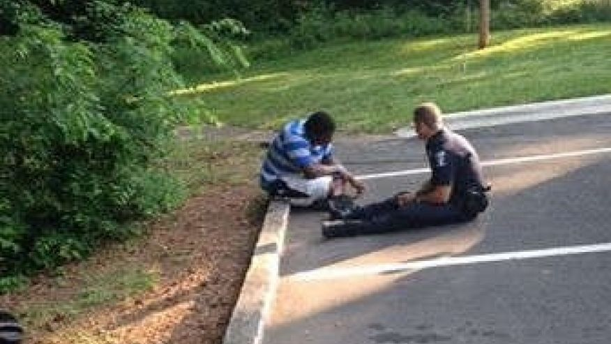 Charlotte Officer Helps Out Student With Autism