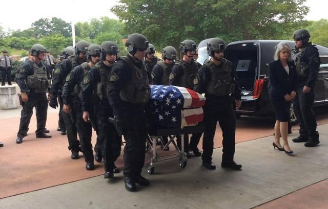 Fallen Deputy Hailed A Hero