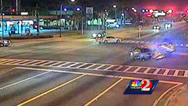 Video: Ocoee Police Officer Ticketed After Dramatic Crash
