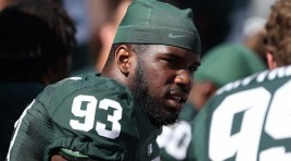 Michigan State Lineman Quits Football For Career In Law Enforcement