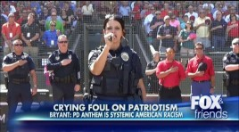 ESPN Columnist Slams Cops Singing National Anthem