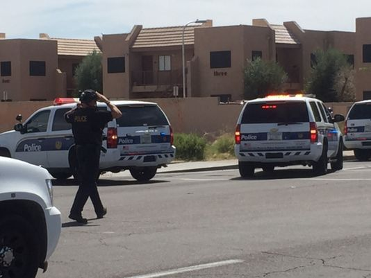 Phoenix Officer Hurt, Suspect Down In Officer Involved