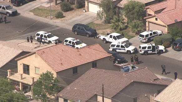 Phoenix Officer Shot, Fighting For His Life