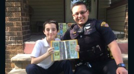 Cleveland Officer Gives His Pokemon Card Collection To Kid Who Had His Stolen