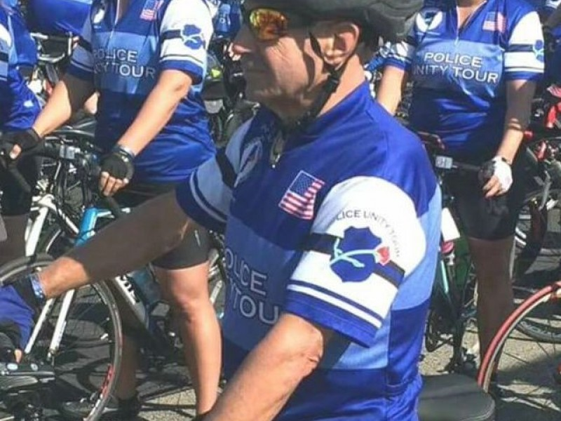 Retired Officer Critical After Accident On Police Unity Tour
