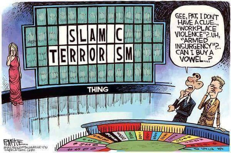 Radical Islamic Terrorism:  The Spin Is Coming