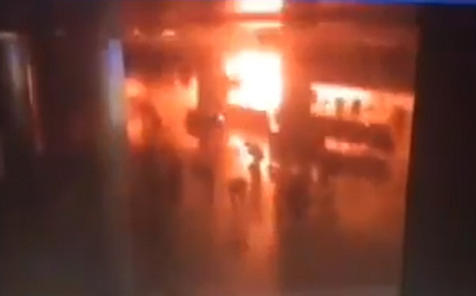 Istanbul Terror Attack Caught On Camera