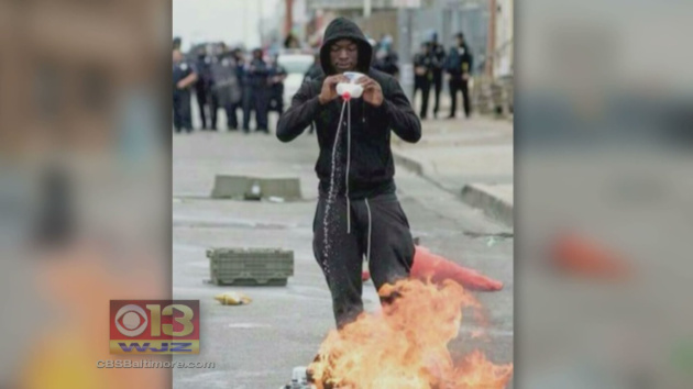 Man Gets 15 Years For Baltimore Riots