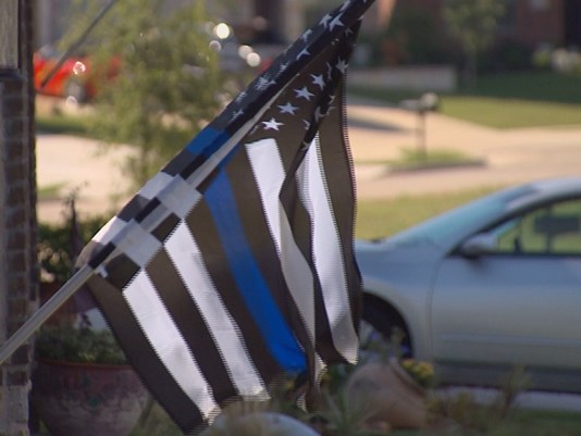 Association Tells Neighborhood To Remove Law Enforcement Flags