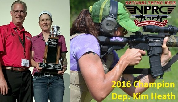 Kim Heath Wins National Patrol Rifle Competition, Becomes First Female Winner