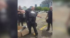 Riot Gear For Cleveland Police Doesn't Fit, Photo Draws Criticism