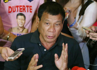 Philippine President Encourages Citizens to Shoot Drug Dealers