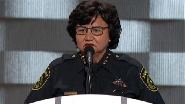 Black Lives Matter Interrupts 'Moment Of Silence' For Fallen Officers At The DNC