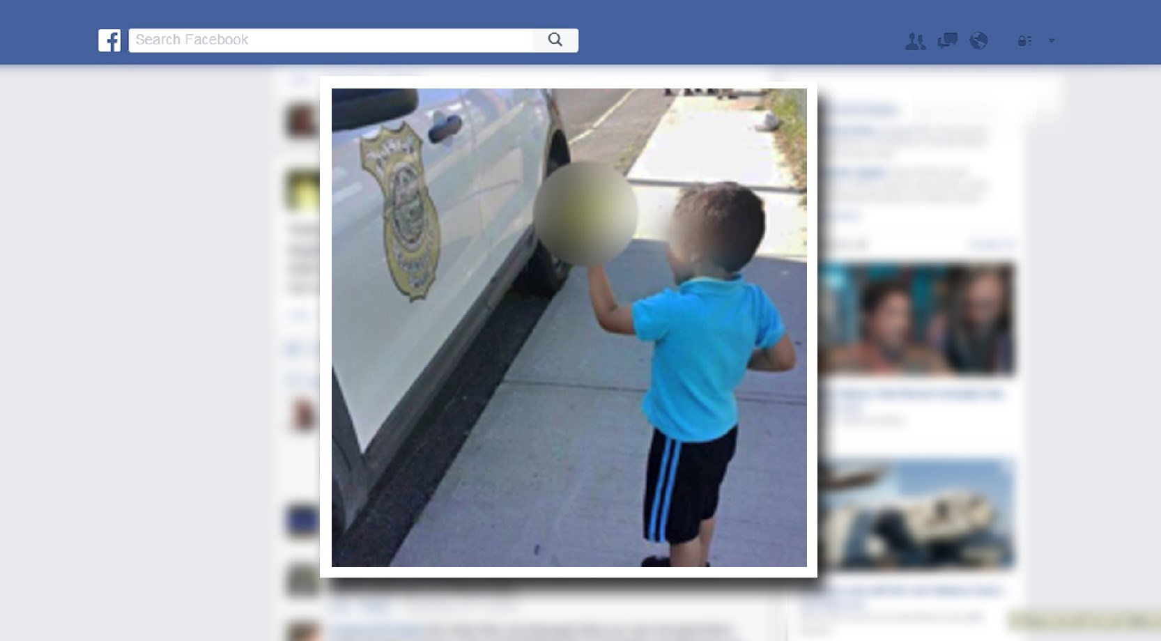 Photo of Child Giving Cop the Finger Goes Viral