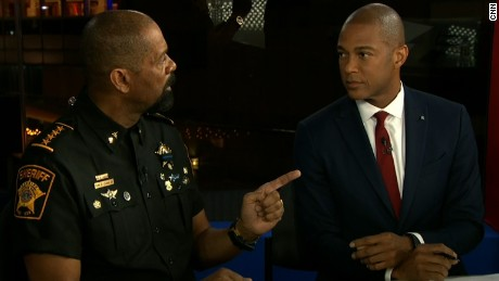 Watch This Exchange With Sheriff David Clarke And CNN