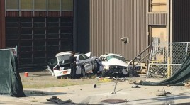 Two Police Cars Collide In North Carolina