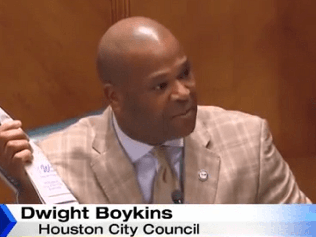 Houston Official:  Only Blacks Can Police Black Communities
